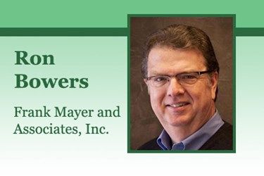 Ron Bowers Frank Mayer and Associates, Inc.
